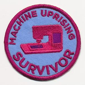 Crafty Merit Badges - Uprising Survivor (Patch)_image