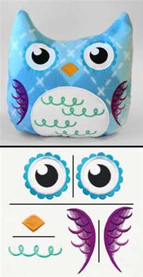 Owl Plush Kit_image