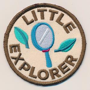 Adventure Merit Badges - Little Explorer (Patch)_image
