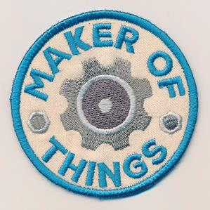 Adventure Merit Badges - Maker of Things (Patch)_image