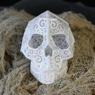 Skull (3D Lace)_image