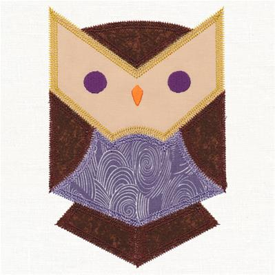 Owl Quilt Block (In-the-Hoop)_image