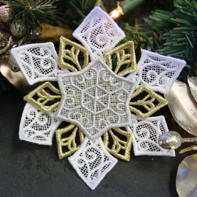 Layered Snowflake (Lace)_image
