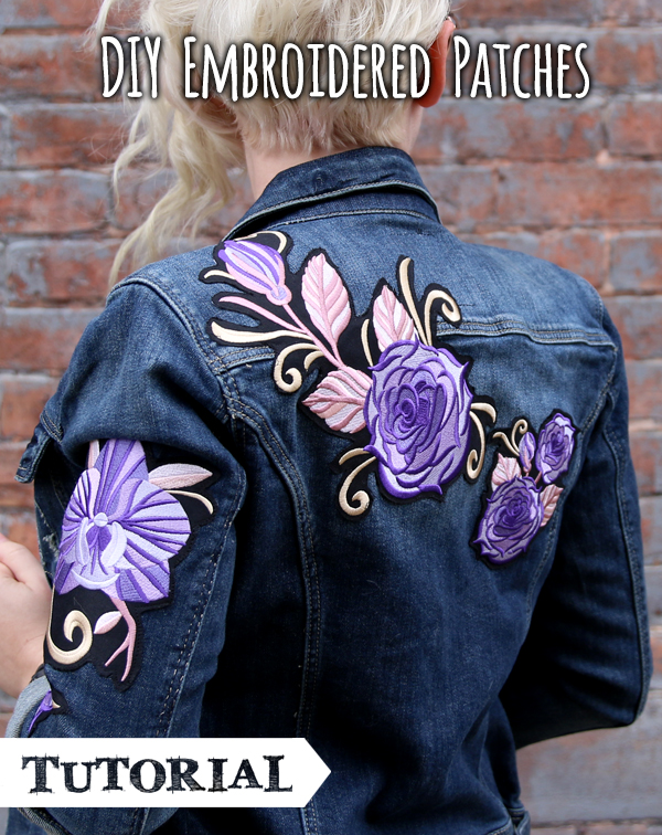 jacke patches diy
