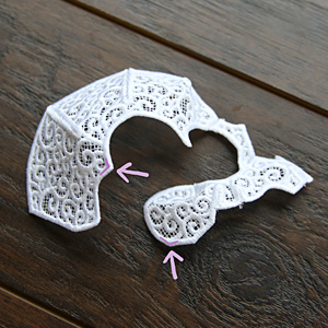 Free project instructions for creating a 3D lace skull.