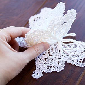 Layered Lace Butterfly