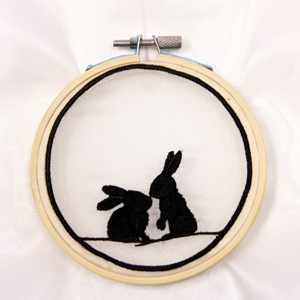 Hooped Shadowbox Ornament
