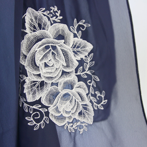 Embroidering on Sheer Fabric