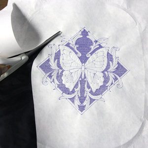 Embroidering on Velvet