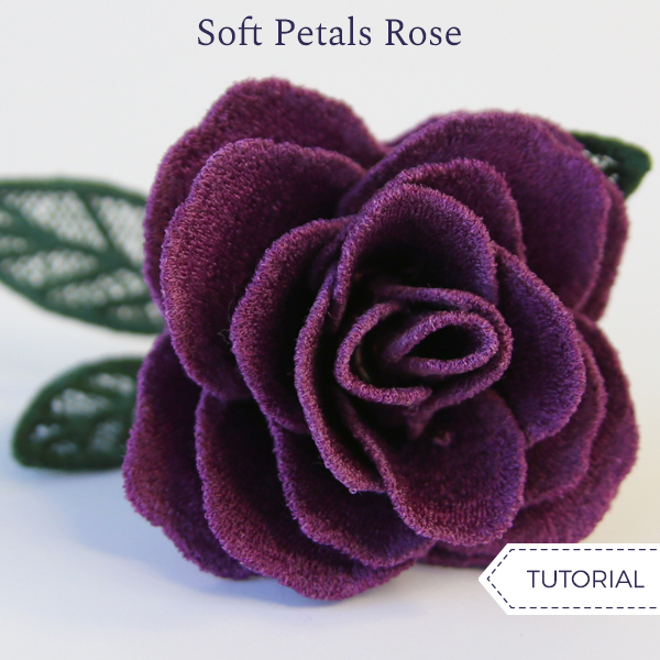 Soft Petals Rose (Lace)