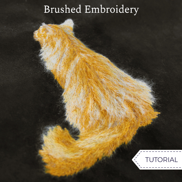 Brushed Embroidery