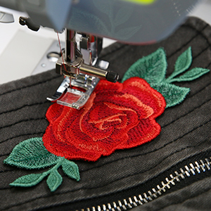Freestanding Embroidery Patch