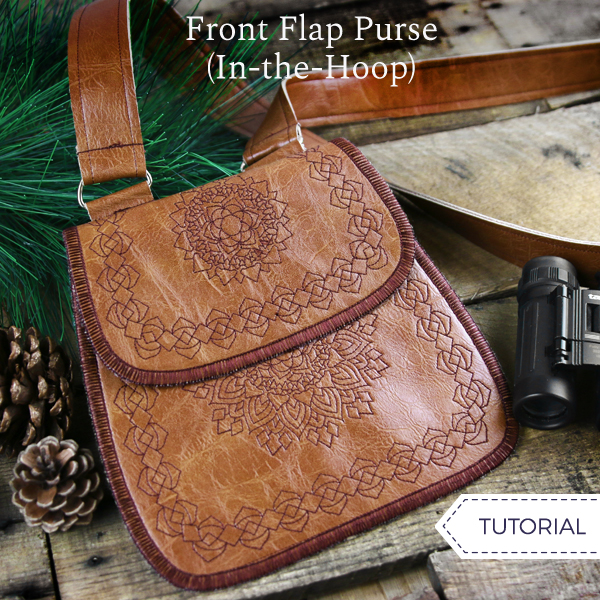 Front Flap Purse (In-the-Hoop)