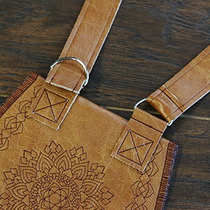 In-the-Hoop Front Flap Purse