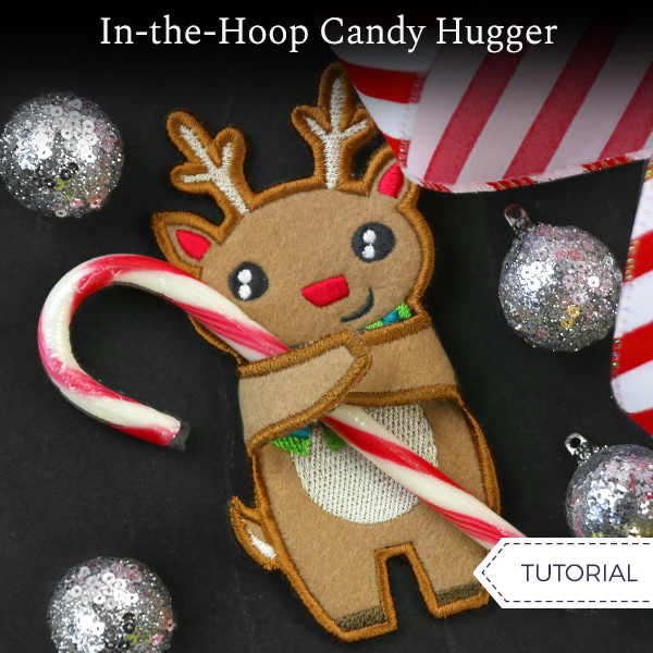In-the-Hoop Candy Hugger