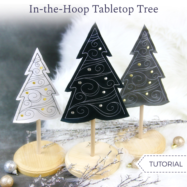 In-the-Hoop Tabletop Tree
