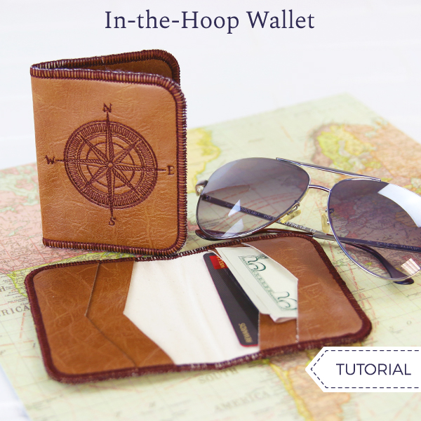 In-the-Hoop Wallet