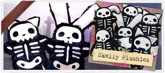 Skelly Plushies (Stuffed) (Design Pack)