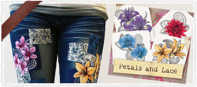 Petals and Lace (Design Pack)