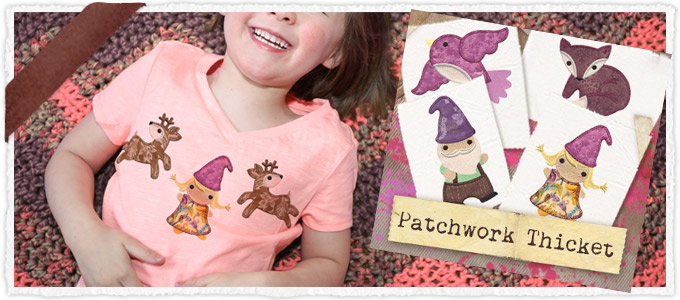 Patchwork Thicket (Applique) (Design Pack)