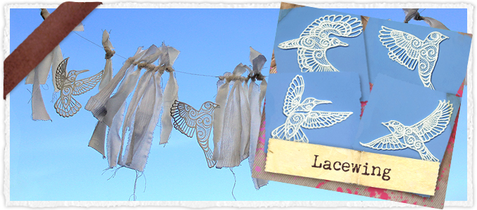 Lacewing (Lace) (Design Pack)