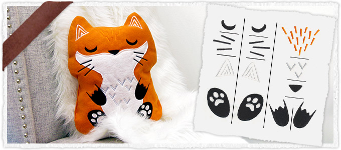 Fox Plush Kit