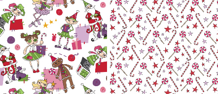 Primitive Christmas Fabrics