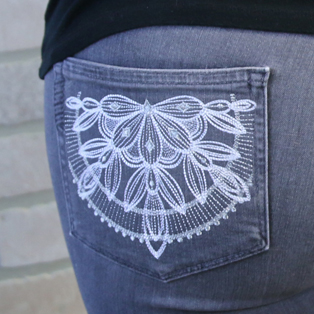 Urban Threads - Video: Embroidering on Pockets