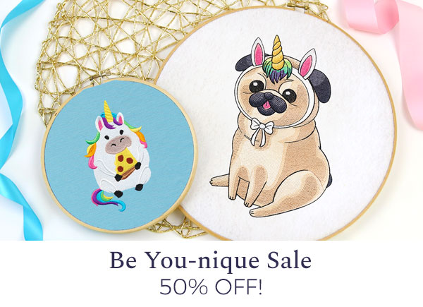 Urban Threads - Be You-nique Sale!