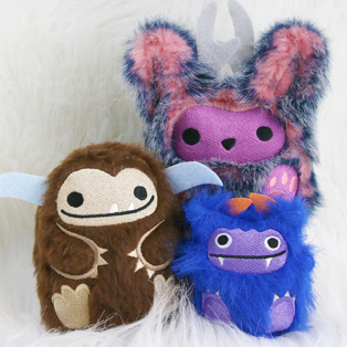 Urban Threads - In-the-Hoop Fluffy Plushies