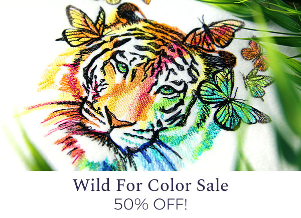 Urban Threads - Wild For Color Sale