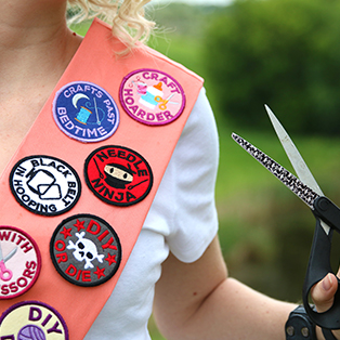 Urban Threads - Featured Collection: Crafty Merit Badges