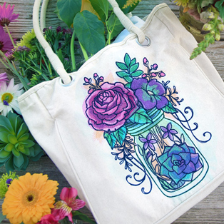 Urban Threads - Featured Collection: Kaleidoscope Blooms
