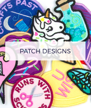 Urban Threads - Patch Designs