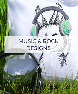Urban Threads - Music & Rock Designs