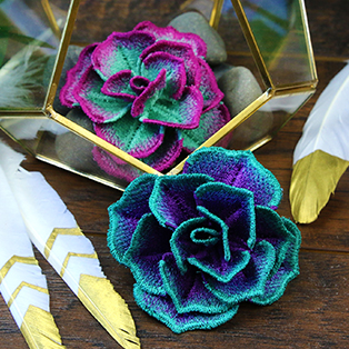 Urban Threads - Supple Succulent Tutorial