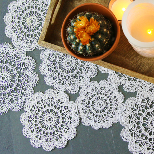 Urban Threads - Delicate Lace Doily at Embroidery Library