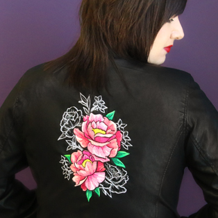 Urban Threads - Embroidering on Faux Leather Tutorial
