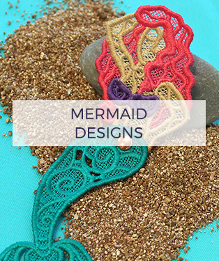 Urban Threads - Mermaid Designs
