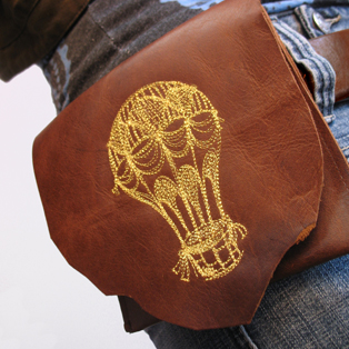 Urban Threads - Stitching on Leather Tutorial