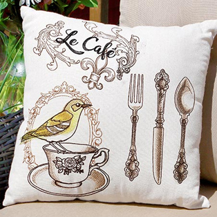 Urban Threads - Featured Collection: French Cafe