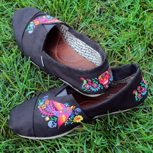 Urban Threads - Revamped & Recovered Fabric Shoes