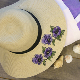 Urban Threads - Embroidering on a Floppy Hat