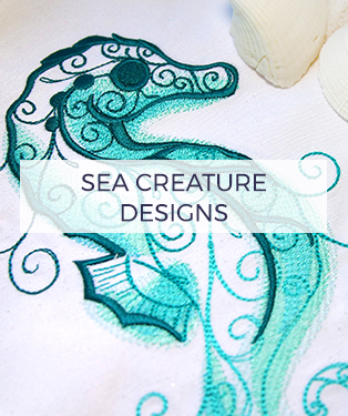 Urban Threads - Sea Creature Designs