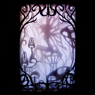Urban Threads - Enchanted Shadowbox