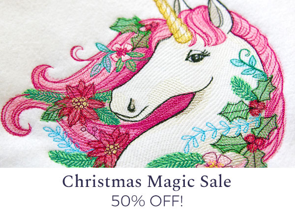 Urban Threads - Christmas in July Sale