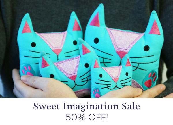 Urban Threads - Sweet Imagination Sale