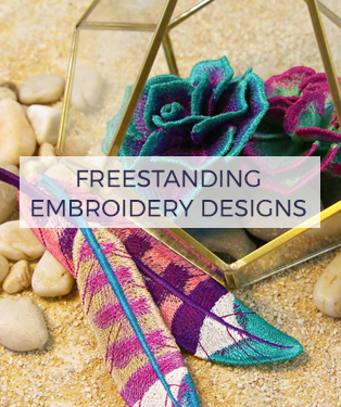 Urban Threads - Freestanding Embroidery Designs