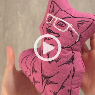 Urban Threads - Turn Embroidery Designs Into Plushies Video