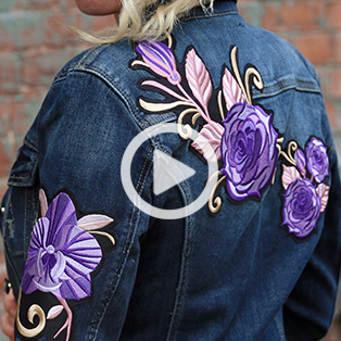 Urban Threads - Making Embroidered Patches Video